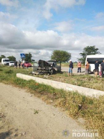 Винуватець ДТП із загиблими в Генічеському районі буде затриманий в порядку ст.208 КПК України