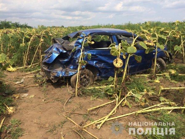 Поліція з'ясовує обставини ДТП з потерпілими в Бериславському районі
