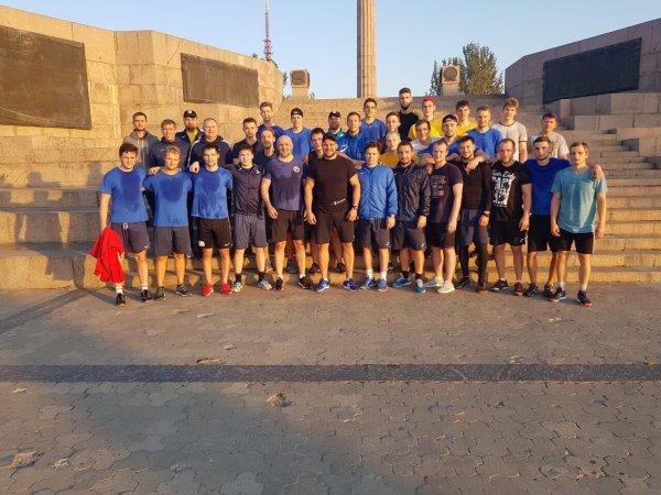 ХК «Днепр» провел открытую тренировку на херсонской набережной