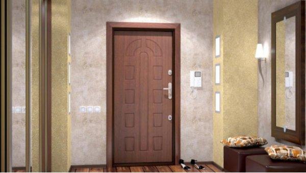Бронированные двери в обстановке жилья