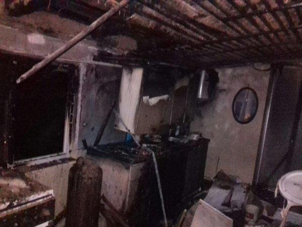 У Антонівці ліквідовано пожежу житлового будинку