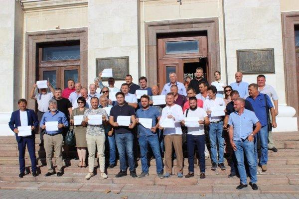 Херсонські депутати-аграрії підтримали всеукраїнський флешмоб