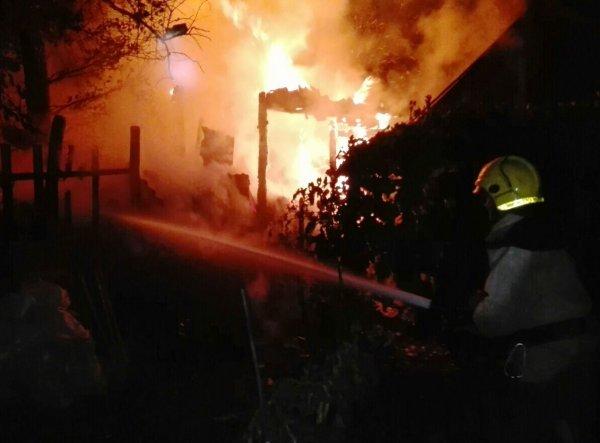 Голопристанські вогнеборці ліквідували пожежу в приватному домогосподарстві