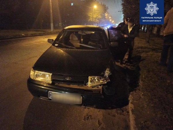 У Херсоні ще один водій напідпитку спровокував ДТП