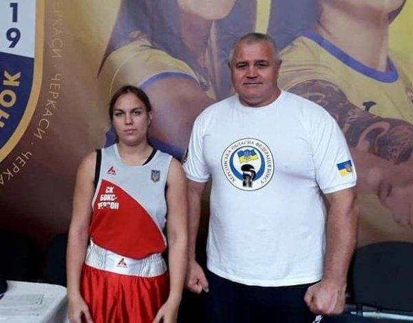 Херсонська боксерка завоювала золоту медаль