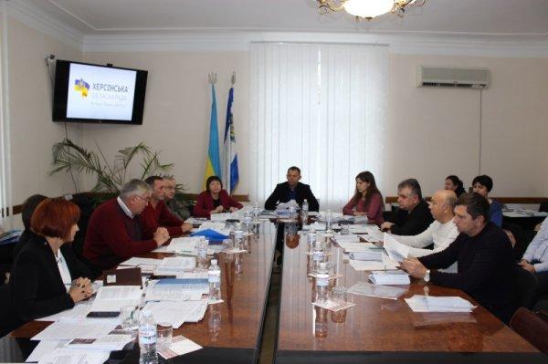 Відбулось засідання комунальної комісії обласної ради