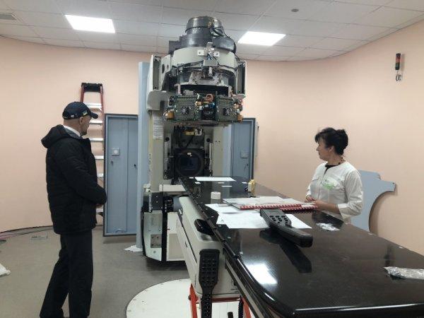 У онкодиспансері тривають роботи з запуску лінійного прискорювача