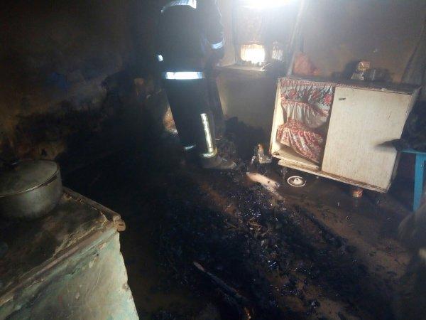 Голопристанські рятувальники ліквідували пожежу в літній кухні