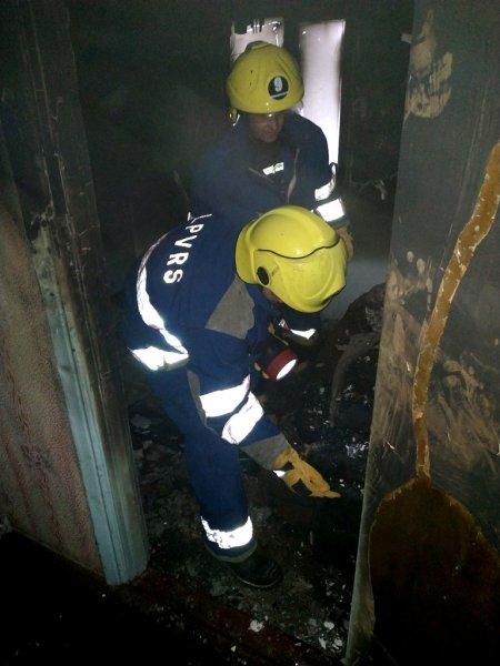 Рятувальники Горностаївського району ліквідували пожежу в житловому будинку