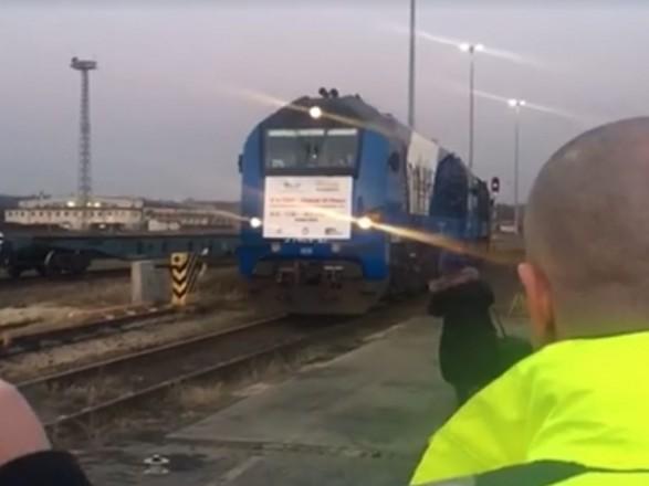 Через Україну до ЄС проїхав перший контейнерний поїзд із Китаю