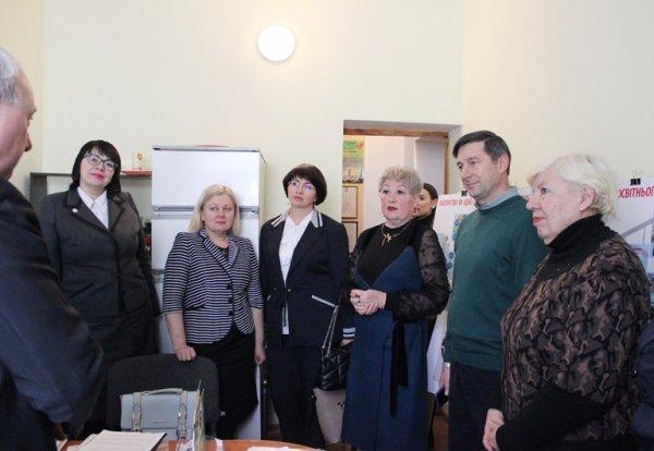 Депутати ознайомилися з матеріально-технічною базою комунального закладу «Мала академія наук»