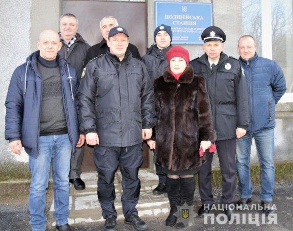 На Херсонщині відкрилася 12-та поліцейська станція