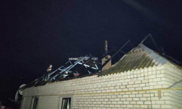 У Новій Маячці ліквідовано пожежу, що охопила дах приватного будинку