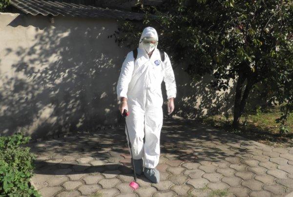 Херсонские спасатели продезинфицировали 31 объект социальной сферы