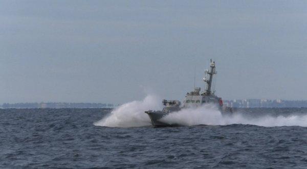 ВМС провели військові маневри у Дніпро-Бузькому лимані