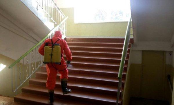 На Херсонщині рятувальники продовжують дезінфекцію об'єктів