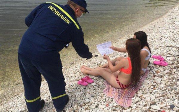 Спасатели Херсонщины напомнили отдыхающим правила поведения на воде